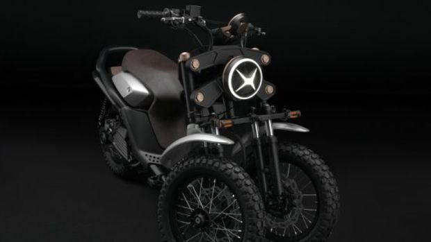 yamaha 03gen der neue dreirad roller in zwei varianten. Black Bedroom Furniture Sets. Home Design Ideas