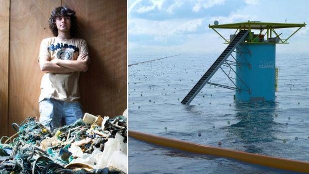 Er kämpft, damit die Weltmeere wieder sauber werden!