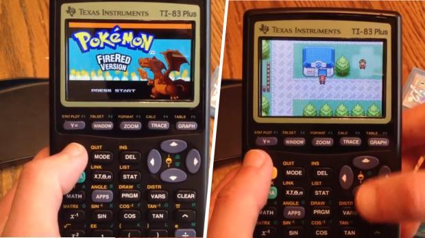 Pokemon auf Taschenrechner