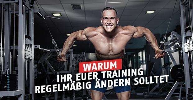 Training ändern