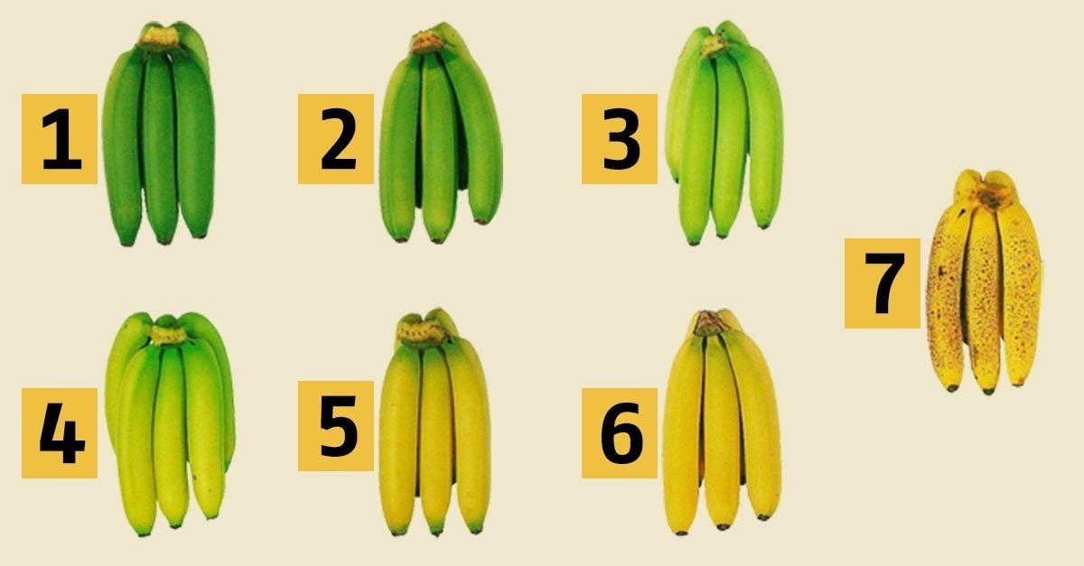 Banane Grün
