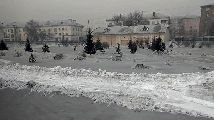 Schwarzer Schnee fällt in Sibirien: Über den Grund sind Bewohner schockiert!