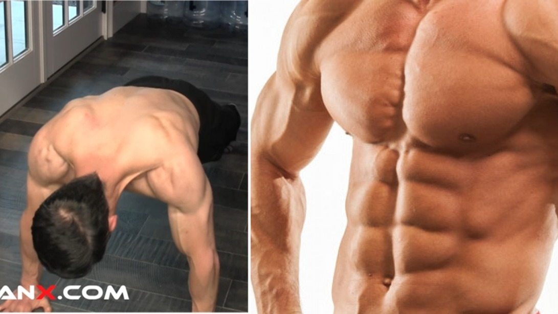Eine ideale Übung für die Bauchmuskeln von Jeff Cavaliere