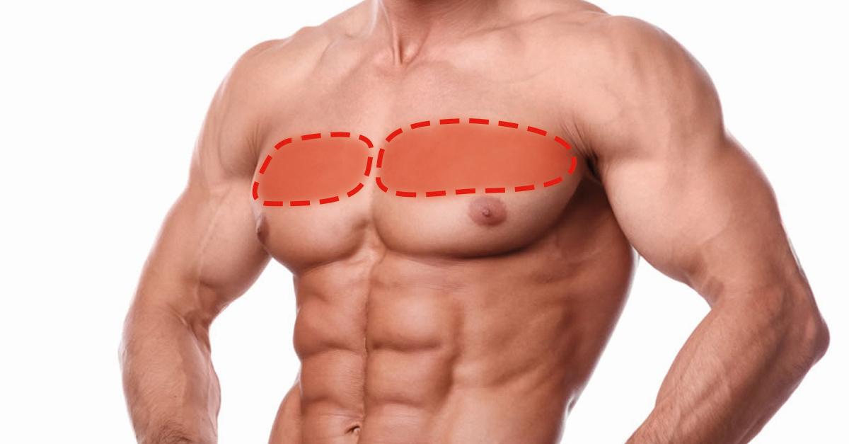 So trainiert ihr die oberen Brustmuskeln mit nur einer Hantel