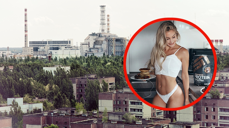 Attraktives Instagram-Model schockt mit ihren Bildern im Atomkraftwerk Tschernobyl