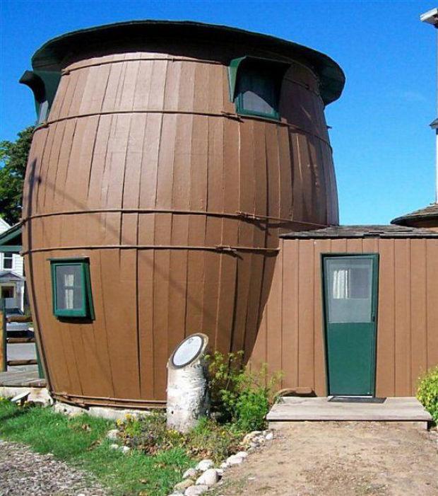 Die seltsamsten Häuser der Welt