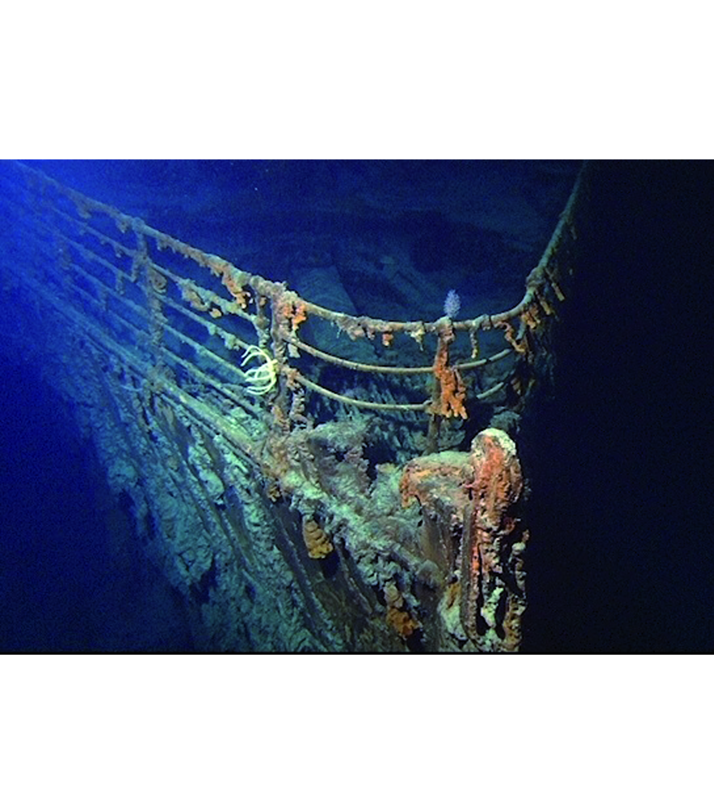 Die Titanic liegt seit 104 Jahren im Nordatlantik