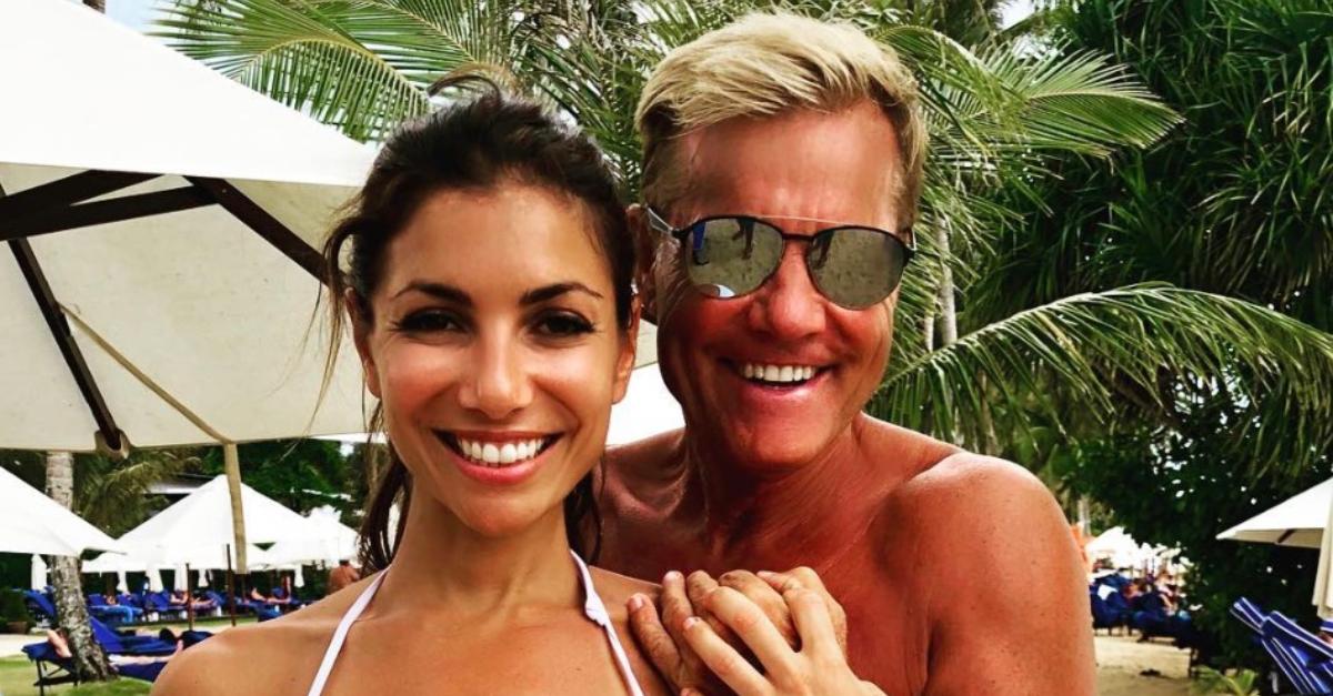 Dieter Bohlen zeigt Freundin im Bikini - und das Netz
