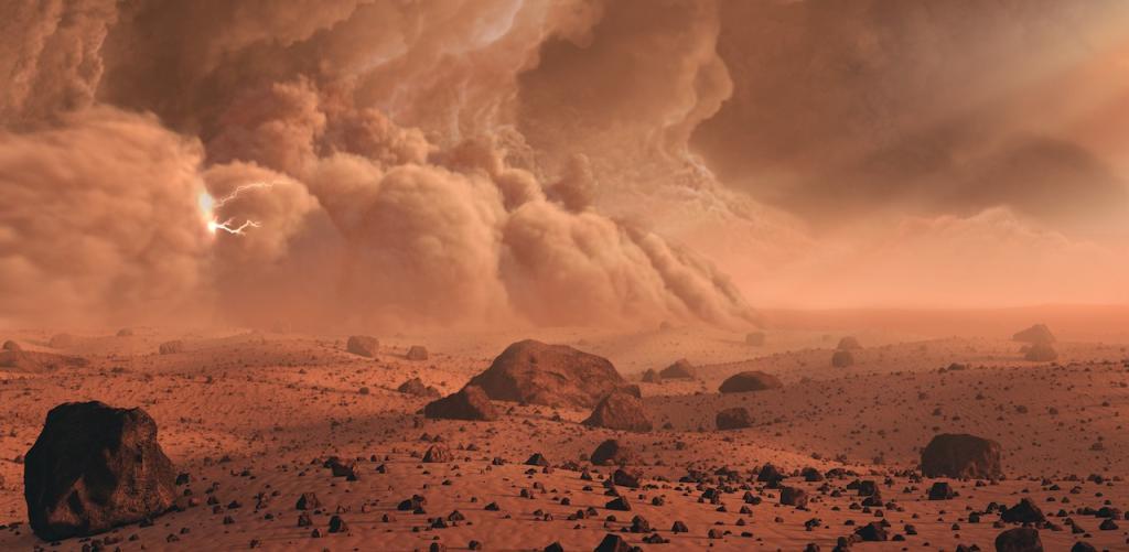 Mars Bewohnbar