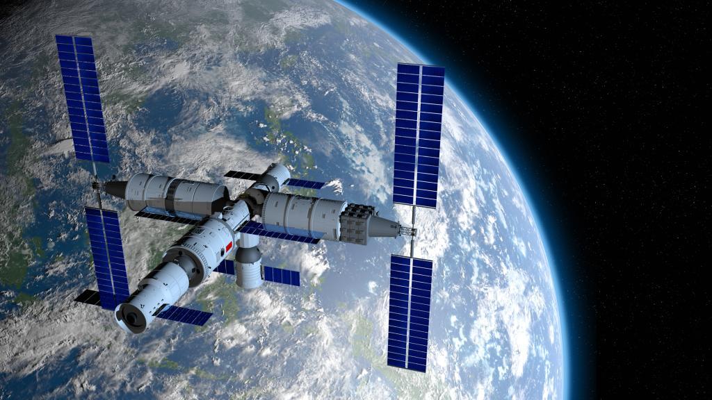 Die ersten Aufnahmen von der chinesischen Raumstation sind atemberaubend