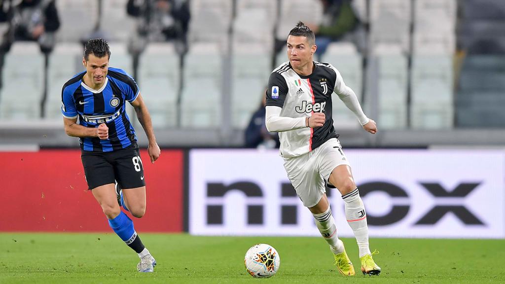 Cristiano Ronaldo trotzt dem Coronavirus auf originelle Weise