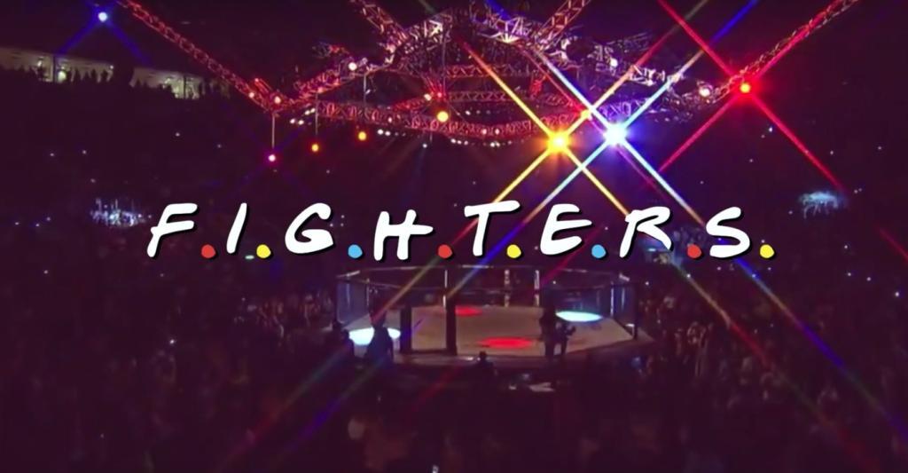 """Diesen UFC-Kämpfer-Remix des """"Friends""""-Intros müsst ihr gehört haben"""