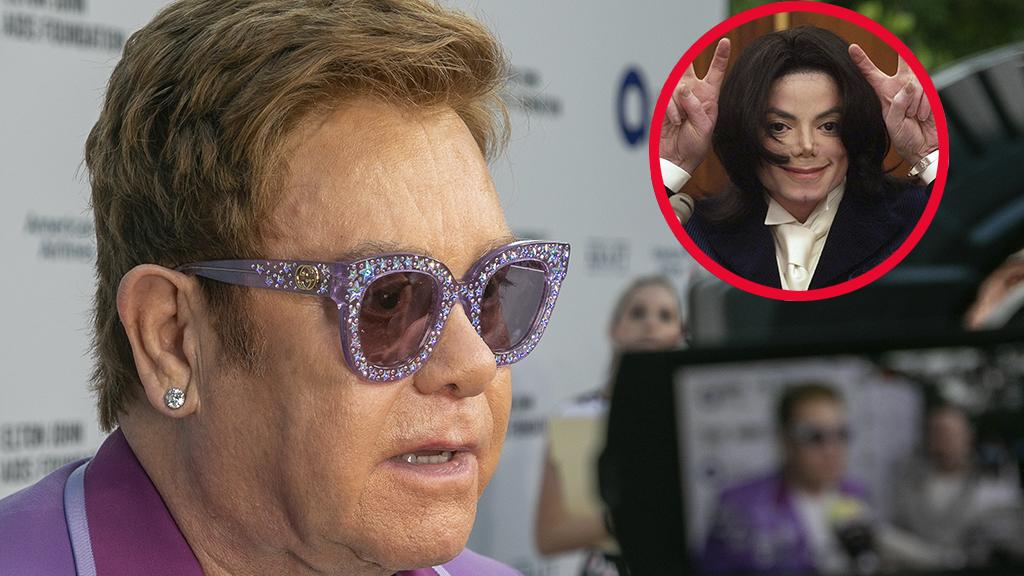 """Elton John über Michael Jackson: """"Er war eine beunruhigende Person, wenn man in seiner Nähe war"""""""