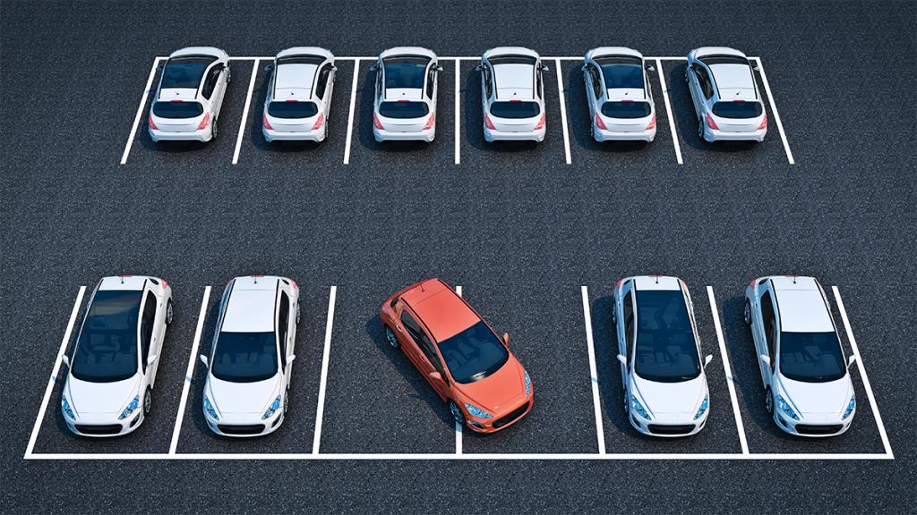 Road Rage: Mann parkt über zwei Parkplätze, dann erwartet ihn eine böse Überraschung