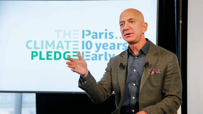 Amazon: Nach Kritik von Mitarbeitern verspricht Jeff Bezos 10 Milliarden Dollar für den Planeten
