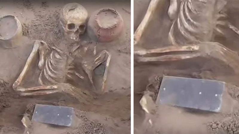 In 2.000 altem Grab: Objekt gefunden, das heute nicht mehr aus unserem Alltag wegzudenken ist