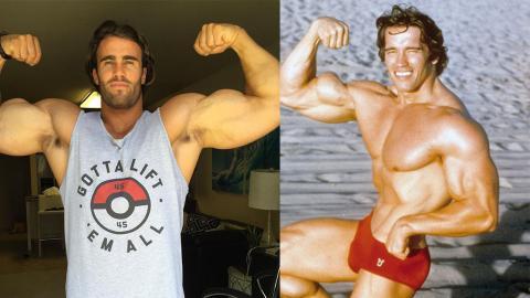 Arnold Schwarzenegger: Jetzt gibt's Trainings-Tipps von seinem Doppelgänger