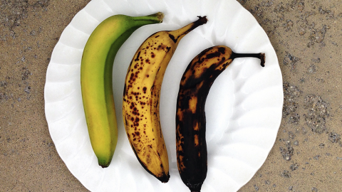 Diese Farbe muss eine Banane haben, um wirklich gesund zu sein