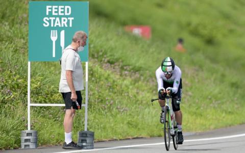 Radsportdirektor wird vom Olympischen Sportbund für rassistische Aussage sanktioniert
