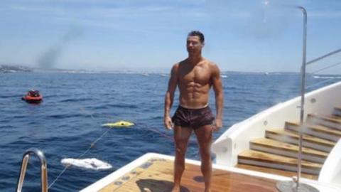 Cristiano Ronaldo: Unglaublich, was er nach seinem Urlaub in Griechenland hinterlässt