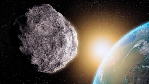 Dieses Wochenende: Ein riesiger Asteroid kommt der Erde gefährlich nah