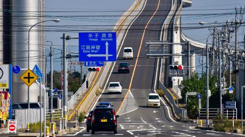 6,1 Prozent Gefälle: Das ist die gefährlichste Autobrücke der Welt
