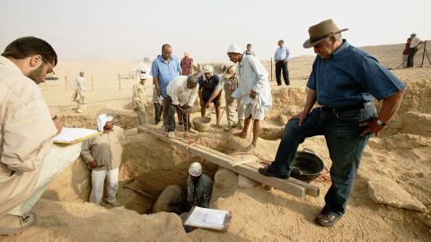 Mysteriöser Sarkophag in Ägypten gefunden: Der Inhalt überrascht die Forscher