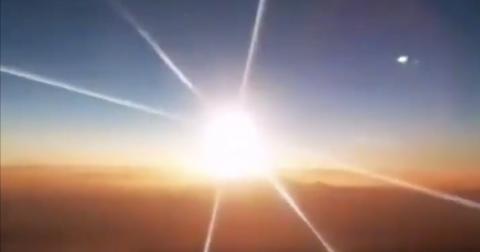 China: Rätselhafter Feuerball am Himmel aufgetaucht