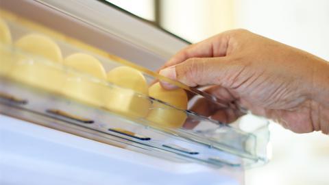 Richtige Lagerung: Deshalb gehören Eier nicht in die Kühlschranktür