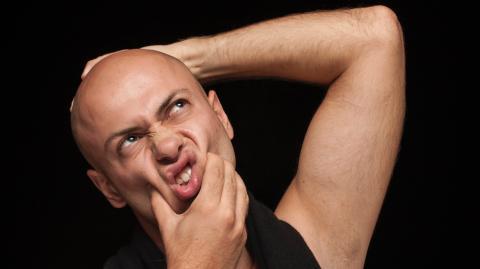 Glatzköpfe auf Tinder gefragt