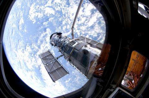 NASA zeigt beeindruckende optische Täuschung durch Hubble-Teleskop