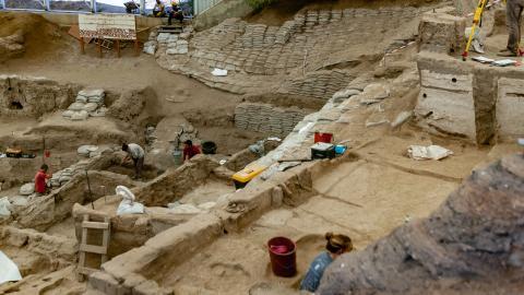 Unglaubliche Ausgrabung: 1.500 alter Weinkeller gefunden