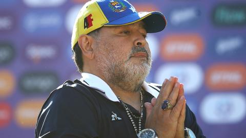 """Maradonas Tochter in Sorge: """"Er wird von innen heraus umgebracht. Bitte betet für ihn"""""""