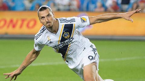 """Zlatan Ibrahimovic verabschiedet sich von LA Galaxy: """"Ich kam, sah und siegte. Gern geschehen!"""""""