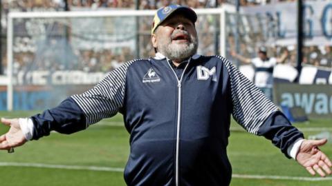 """Diego Maradona: """"Ich kam drei Tage lang nicht nach Hause, mich haben UFOs entführt"""""""