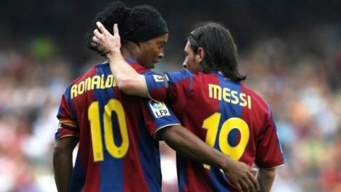 Wahre Freundschaft: So rührend spricht Ronaldinho über Lionel Messi