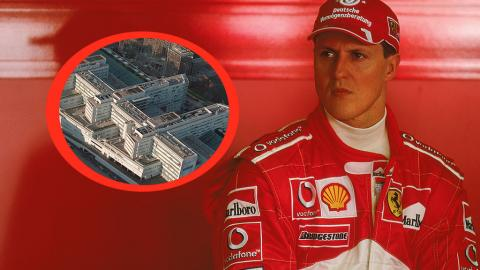 Geheimtransport nach Paris: Michael Schumacher still und heimlich eingeliefert