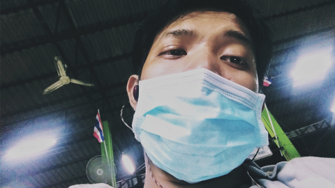 Coronavirus: So hält sich dieser Marathonläufer trotz Quarantäne fit