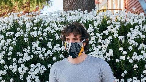 Stoffmasken im Alltag: Können sie vor dem Virus schützen?