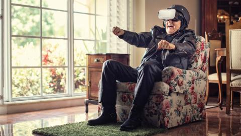 Altersheim revolutioniert den Aufenthalt mit Xbox und virtueller Realität