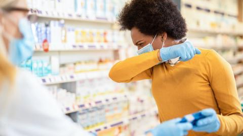 Coronavirus: Was tun, wenn jemand neben dir niest oder hustet?