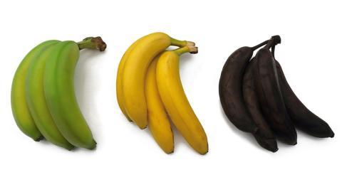 Grün, gelb oder schwarz: Welche Banane ist am gesündesten?