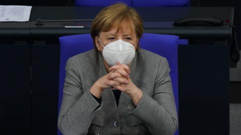 Mega-Shutdown in Deutschland: Merkel drängt auf Entscheidung