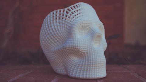 Gesichtsmasken von echten Gesichtern aus dem 3D-Drucker