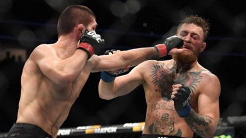 """""""Ich glaube nicht, dass er diesen Kampf will"""" Khabib glaubt, dass Conor McGregor Angst vor einem Rematch hat"""