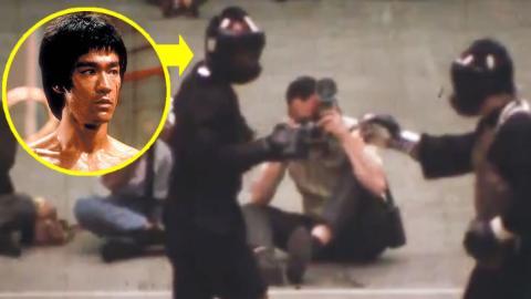 Dieses Video zeigt den einzigen echten Kampf von Bruce Lee