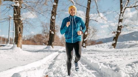 So trainierst du im Winter richtig!