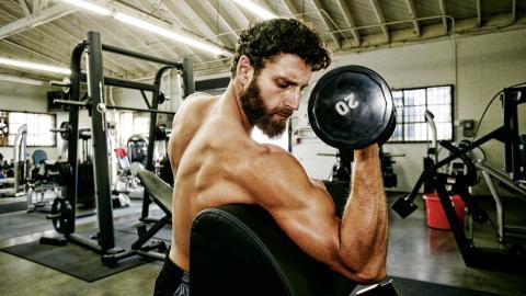 Back to the Roots: Fünf grundlegende Übungen für muskulösere Arme