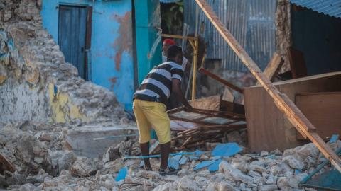 Steigende Opferzahlen in Haiti: Nach Erdbeben kündigt sich nächste Naturkatastrophe an