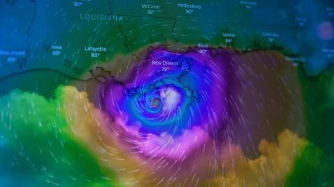 New Orleans: Nächtliche Ausgangssperre nach Hurrikan Ida